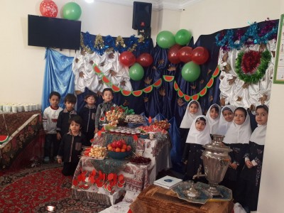 جشن شب یلدای کودکان و گلهای بهشتی