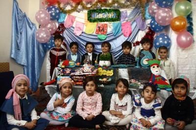 جشن عید نوروز برای گلهای بهشتی
